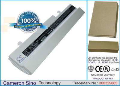 Аккумулятор CS-AUL32HT для Asus Eee PC 1001HA 10,8V 4400Ah Li-ion