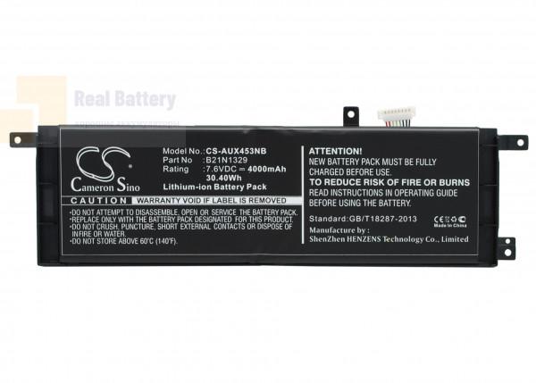 Аккумулятор CS-AUX453NB для Asus D553M  7,6V 4000mAh Li-ion