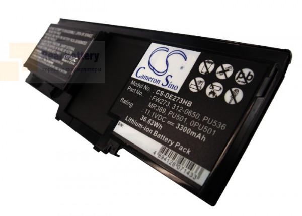 Аккумулятор CS-DE273HB для DELL Latitude XT  11,1V 3300mAh Li-ion