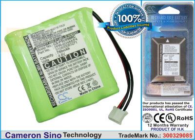 Аккумулятор CS-PSU950RC для Philips BCRU950 4,8V 700Ah Ni-MH