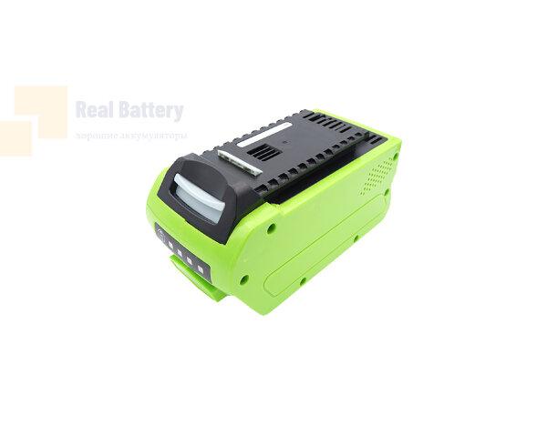 Аккумулятор для GreenWorks 20292 40V 5Ah Li-ion CS-GWP400PX
